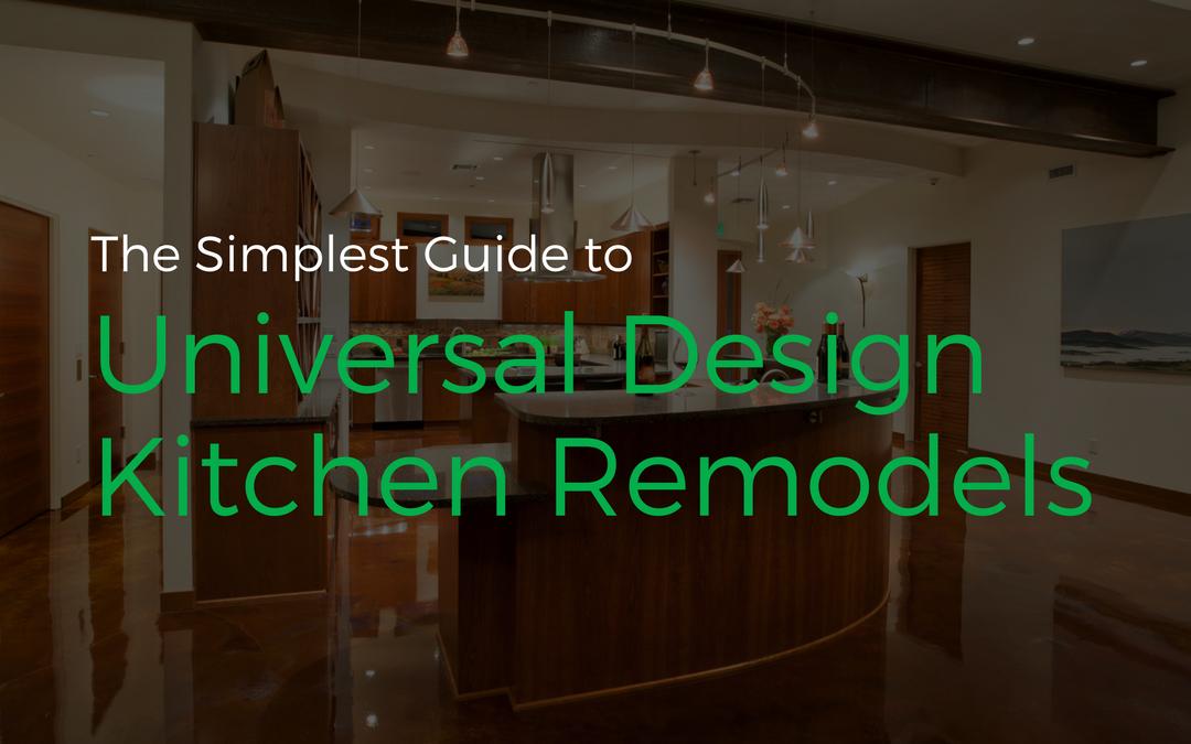 Cover image for our blog post universal design kitchen remodels.