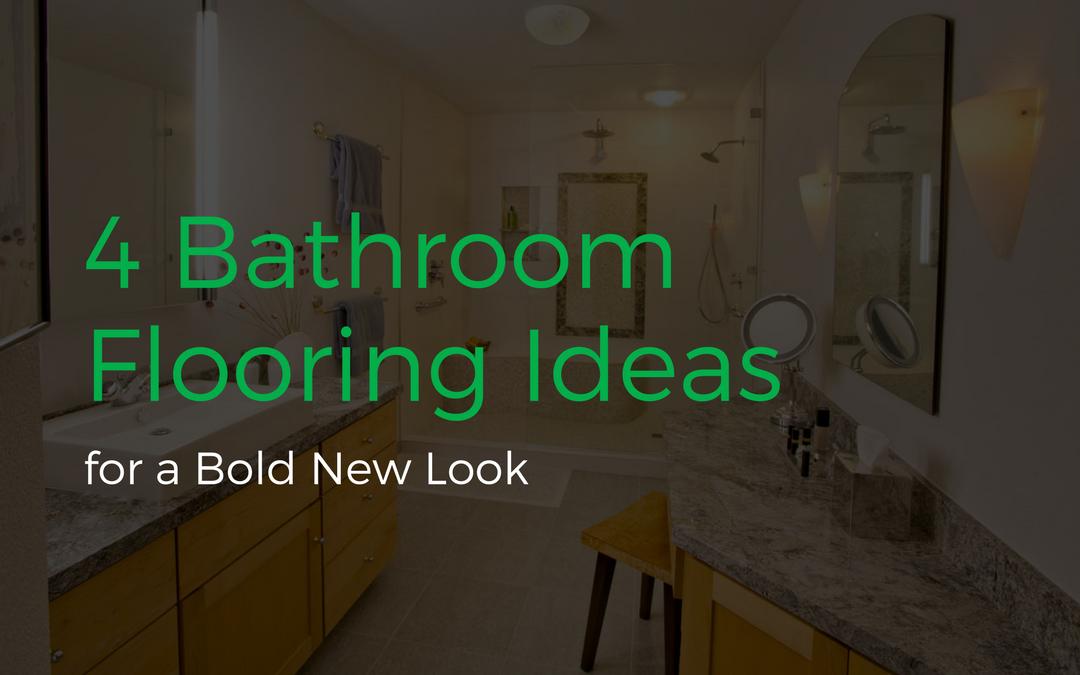 4 Bathroom Flooring Ideas for a Bold New Look